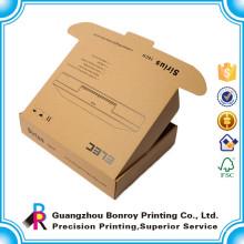 Caja abierta de la diapositiva de la caja del papel de Kraft de la cartulina de encargo del OEM