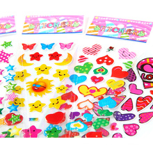 Children Cartoon Printing PVC Kids Vinyl Decal Custom Promotion Gift Kids Cartoon Puffy Stickers