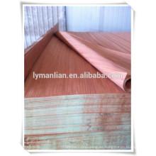 Fabricante de chapa de cara gurjan / chapa de madera keruing