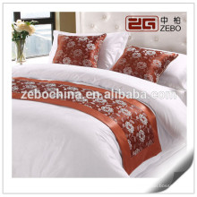 Hot Selling Hotel King Size Decoration Bed Runner Wholesale