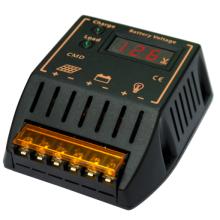 Regulador solar del sistema de la energía del regulador del regulador solar de PWM 12V 24V 20A con el voltímetro