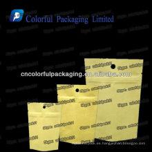 Diferentes tipos de bolsas de papel Kraft / bolsas de papel Kraft de papel marrón con ziplock / bolsas de papel Kraft al por mayor India