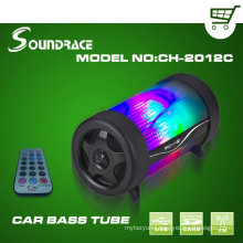 Digital Car bass tube with With 4 inch speaker CH-2012C
