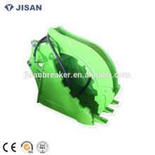 Gran Capacidad hidráulica Grapple Excavadora Grab Bucket