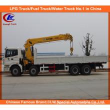 Foton 8X4t Ruck with Crane Heavy Duty Truck Mounted Crane