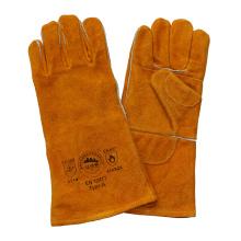 Двойная защита рук от ладони для рук с защитой от коррозии Резьбовые перчатки для сварки