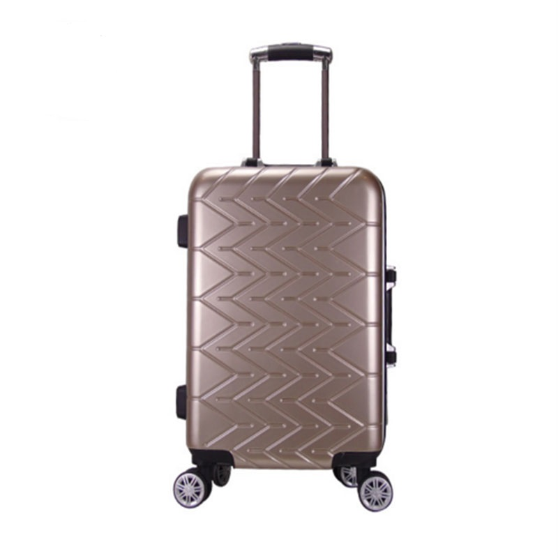 Golden Pvc Luggage