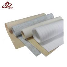 Aplicación de la recolección de polvo la tela de poliéster no tejido para hacer bolsas de filtro