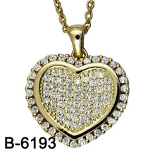Nouveau Design Fashion Jewelry 925 Sterling Silver Collier Pendentif