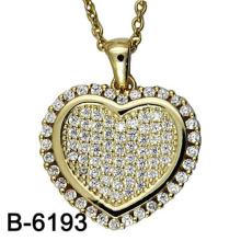 Novo Design de Moda Jóias 925 Sterling Silver Necklace Pendant