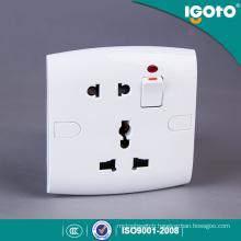 Igoto British Standard E19 Modern Electrical Wall Switch and Socket