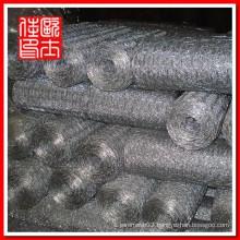 galvanized hexagonal wire netting(gabion mesh,gabion box)