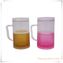 Double Wall Frosty Mug Frozen Ice Beer Mug for Promotional Gifts (HA09121)