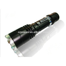 wholesale rechargeable zoomable best led torch flashlight
