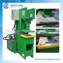 Máquina de estampagem de pedra hidráulica da China