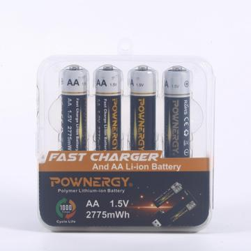 AA Li6R 2775mWh 1,5 V Li-Ion Proprietary Flashlight Battery