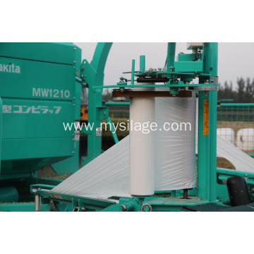 UV Stabilized White Plastic silage bunker covering