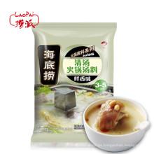 Modelo --- HaiDiLao Broth Sabor Hot Sopa Sopa Pot