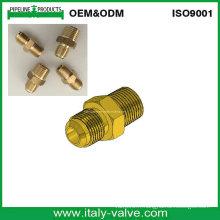 USA Type Branché en laiton Flame Nipple / Male Connector (320208)