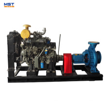 China Produkte der zentrifugalen Dieselwasserpumpe 15hp
