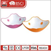 Plastic fruit bowl salad bowl
