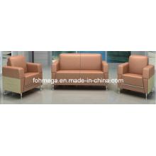 Canapé à rangement en ligne de canapé à rangement en argent pour canapé-lit (FOH-8016)
