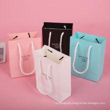 Accept Custom Logo Design Print Grocery Paper Bag Factory Price Paper Packaging Bag