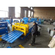 Farbbeschichtete Aluminium-Dachblech-Formmaschine