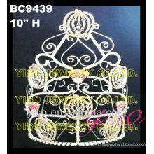 Couronne de princesse princesse personnalisée princesse couronne en gros