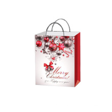New design biodegradable custom print paper bag shopping bags  for Gift Jewelry Christmas Promotion paper bag
