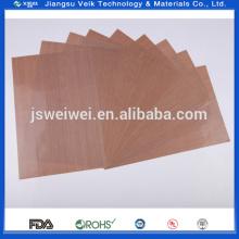 Tissu de fibre de verre enduit de PTFE de résistance à la chaleur antiadhésive