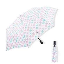 3 Folds Full Auto Gift Sun Umbrella New Luxury Women Fashion Men White Customized