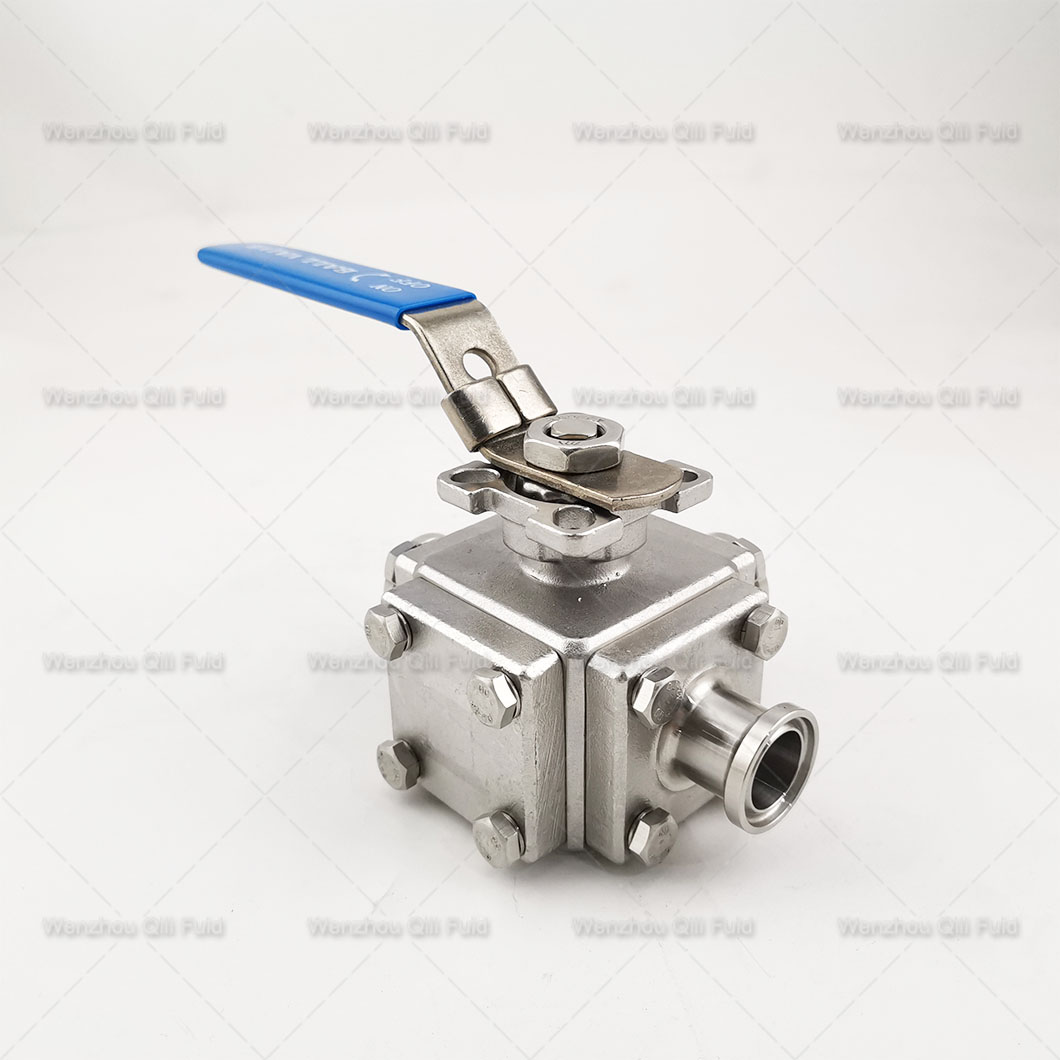 Three way ball valve (20)