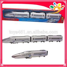 Kids Funny B/O Plastic Classic Railway high speed electric train toy