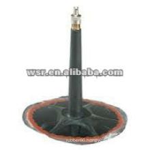 Custom metal bonded rubber valve