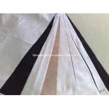"Polyester Herringbone 100dx32 58/59"" White/Dyed Fabric (HFHB)"
