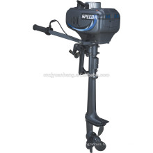Small 3.5hp outboard motor with 2-stroke engine