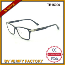 Glassic Stil Erwachsener Tr90 Korrektionsfassungen im schwarzen Tr15099