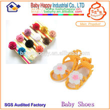 Ensemble de chaussures de bébé à motif à tricoter gratuit