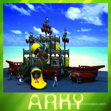 Dream For Kiddie Pirate Ship Outdoor Playground