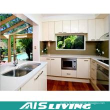 Assembler des meubles d'armoires de cuisine en gros d'usine d'emballage (AIS-K778)