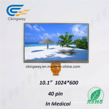 RoHS Hintergrundbeleuchtung LCD-Industrie genehmigt anpassen Größe Display Screen Sensor