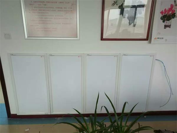 White Infrared Panel in room