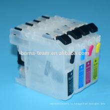 Патрон чернил принтера для брата lc213 патрон чернил refill