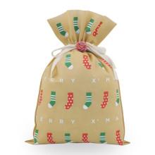 Calcetines navideños Bolsas de regalo no tejidas
