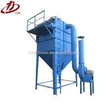 Sistemas de extracción de polvo de hornos de plantas de cemento