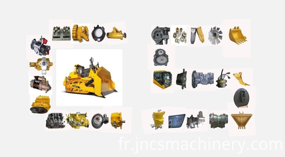 Construction Machine Small Crawler Bulldozer