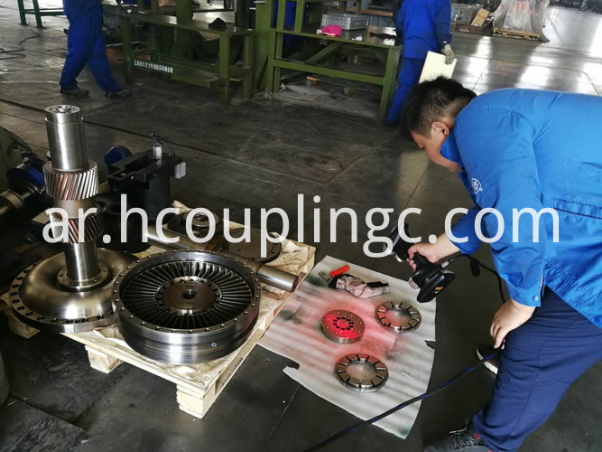 Coupling Overhaul for Power Plant