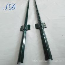Poste de acero en forma de U de 8 pies de alta calidad