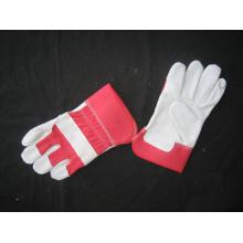 Red Cow Split Leder Voll Palm Handschuh-3056.03